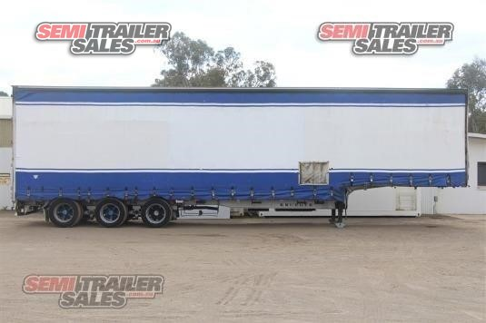 1995 Krueger Curtainsider Trailer Semi Trailer Sales - Trailers for Sale