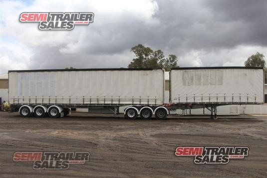 1997 Freighter Curtainsider Trailer Semi Trailer Sales - Trailers for Sale