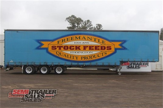 2009 Krueger Curtainsider Trailer Semi Trailer Sales - Trailers for Sale