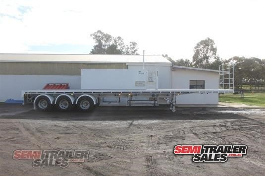 2006 Vawdrey Flat Top Trailer Semi Trailer Sales - Trailers for Sale
