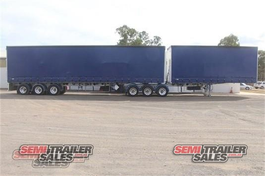 2009 Freighter Curtainsider Trailer Semi Trailer Sales - Trailers for Sale