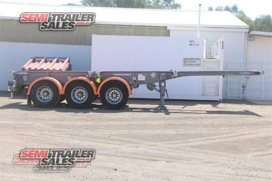 2010 Krueger Skeletal Trailer Semi Trailer Sales - Trailers for Sale
