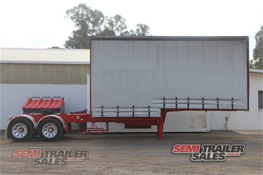 2004 Vawdrey Curtainsider Trailer Semi Trailer Sales - Trailers for Sale