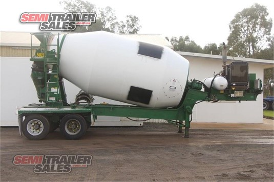 1999 Hamelex White Concrete Agitator Trailer Semi Trailer Sales - Trailers for Sale