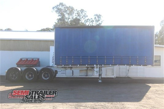 2008 Maxitrans Curtainsider Trailer Semi Trailer Sales - Trailers for Sale
