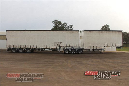 2009 Vawdrey Curtainsider Trailer Semi Trailer Sales - Trailers for Sale
