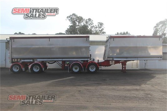 2009 Muscat Tipper Trailer Semi Trailer Sales - Trailers for Sale