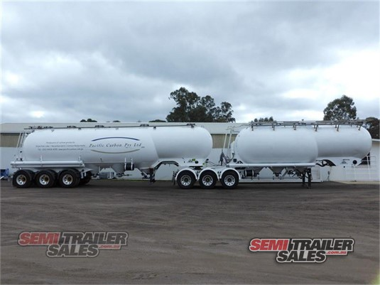 2007 Bulk Pressure Tankers Tanker Trailer Semi Trailer Sales - Trailers for Sale