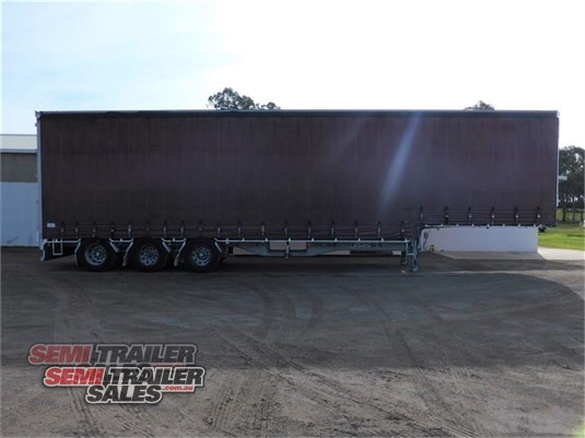 2008 Vawdrey Curtainsider Trailer Semi Trailer Sales - Trailers for Sale