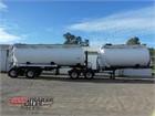 2006 Marshall Lethlean Tanker Trailer B Double Tanker Set