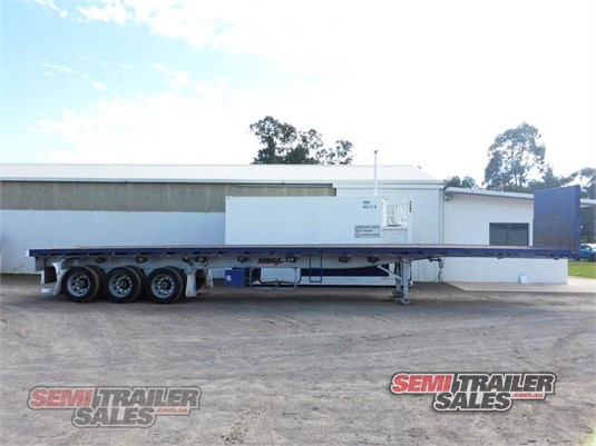 2010 Maxitrans Flat Top Trailer Semi Trailer Sales - Trailers for Sale