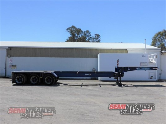 1980 Krueger Skeletal Trailer Semi Trailer Sales - Trailers for Sale