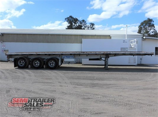 1985 Freighter Flat Top Trailer Semi Trailer Sales - Trailers for Sale