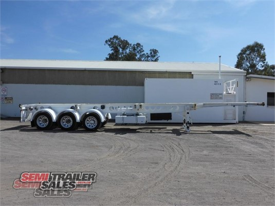 2013 Krueger Skeletal Trailer Semi Trailer Sales - Trailers for Sale