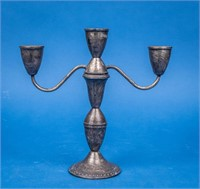 Sterling Silver Duchin Creation Candlestick