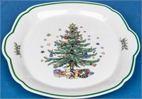 """""""Christmastime"""" Serving Pieces by Nikko"""