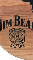 Michigan Jim Beam Barrel Wall Decor 23x22