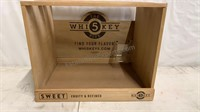 The Whisky 5 wooden display box