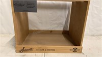 The Whisky 5 wooden display box with Crown Royal