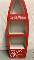 Captain Morgan wooden product display boat