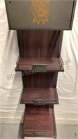 Jim Beam wooden display case