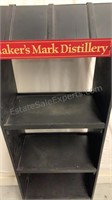 Marker's Mark Distillery wooden display case