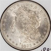 Coin 1883 Morgan Silver Dollar Almost Unc.