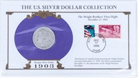 Coin 1903 Morgan Silver Dollar With History Good
