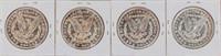 Coin 4 Morgan Silver Dollars 1888 Almost Unc*