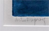 "Art Ruth Rodman A/P Etching ""Morning Mist I"""