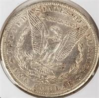 Coin 1899-O  Morgan Silver Dollar Almost Unc.