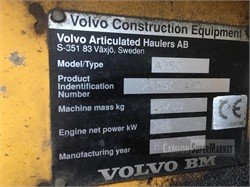 VOLVO A35C  used