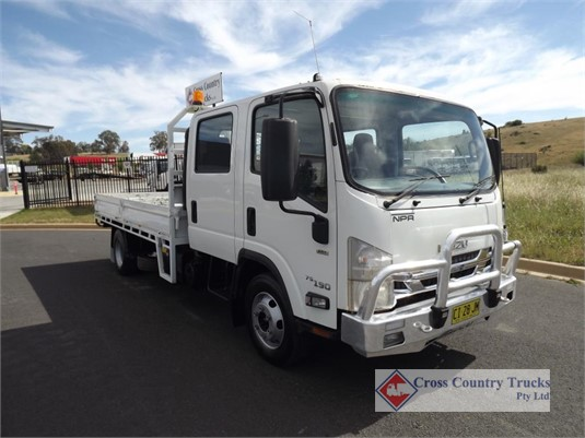 2016 Isuzu NPR 75 190 Cross Country Trucks Pty Ltd - Trucks for Sale