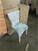 Farmhouse Side Chair - Teal -Qty 23