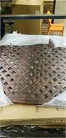 """Weave Cast Aluminum Table - 32"""" Square -Qty 48"""