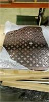 """Weave Cast Aluminum Table - 32"""" Square -Qty 55"""