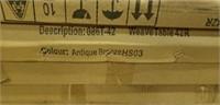 "Weave Cast Aluminum Table - 42"" Round -Qty 32"