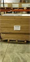 """Weave Cast Aluminum Table w/ base 38"""" X 60 -Qty 17"""