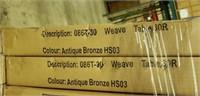 "Weave Cast Aluminum Table - 30"" Round -Qty 38"