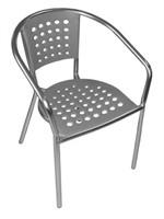 South Miami Beach Arm Chair -Gray Qty 36