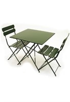 Jardin Rectangle Folding Table - Green -Qty 9