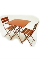 Jardin Rectangle Folding Table - Red -Qty 15