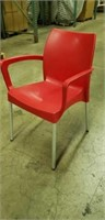 Domenica Arm Chair Red -Qty 3