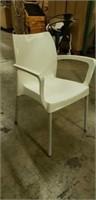 Domenica Arm Chair - White -Qty 40