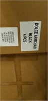Domenica Arm Chair- Black -Qty 92