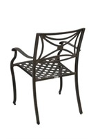 Cast Aluminum Weave Arm Chair - Director -Qty 12