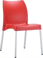 Domenica Side Chair - Red -Qty 33