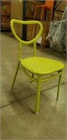 Edina II Side Chair - Apple Green -105 total