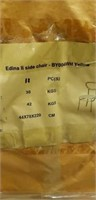 Edina II Side Chair - Yellow -Qty 98
