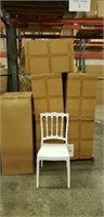 Napoleon Side Chair - White -Qty 24